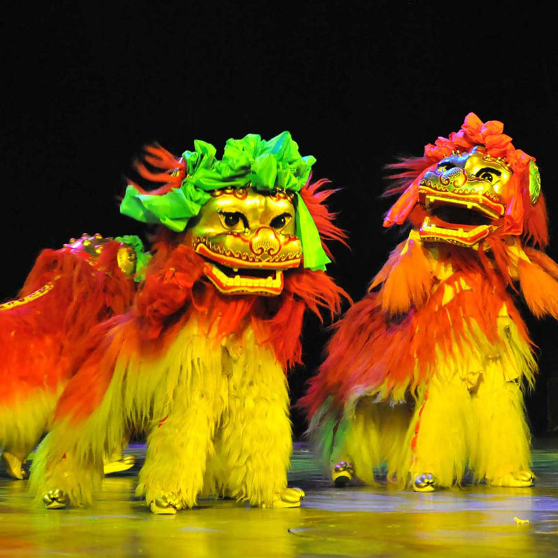 فرقة الصين الوطنية للألعاب البهلوانية – عرض سبلنديد (Splendid)